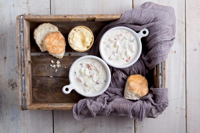 Classic New England Clam Chowder | Classic New England Recipes