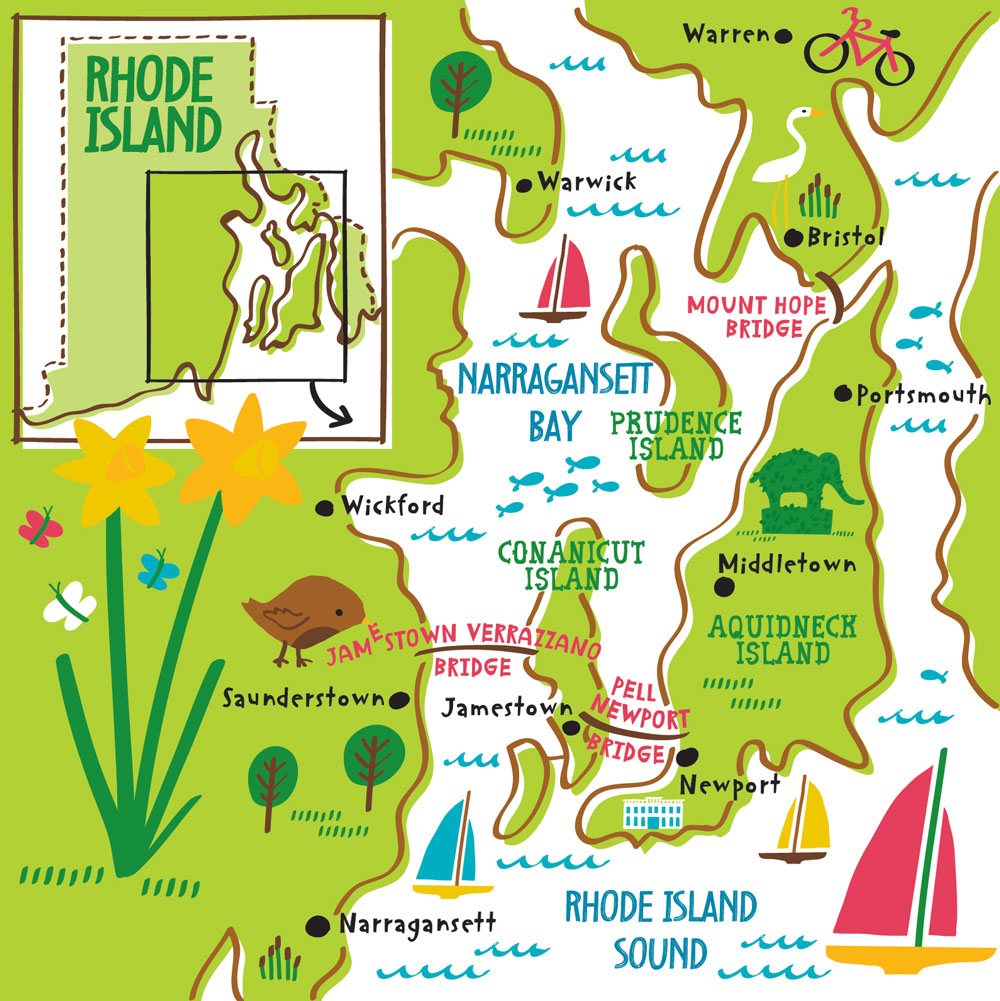 What Are The Natural Resources Of Rhode Island In