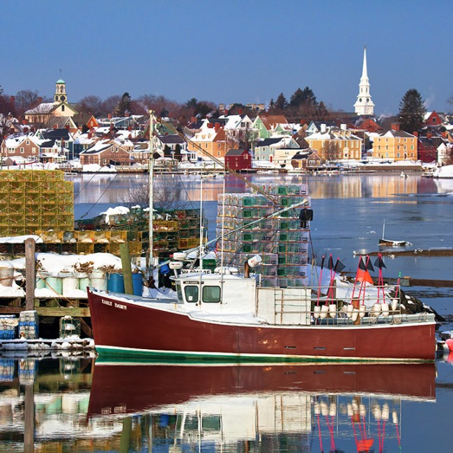 Portsmouth, New Hampshire in Winter | Photographs - New England Today