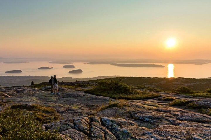 Sunrise on Cadillac Mountain | First Light - New England Today