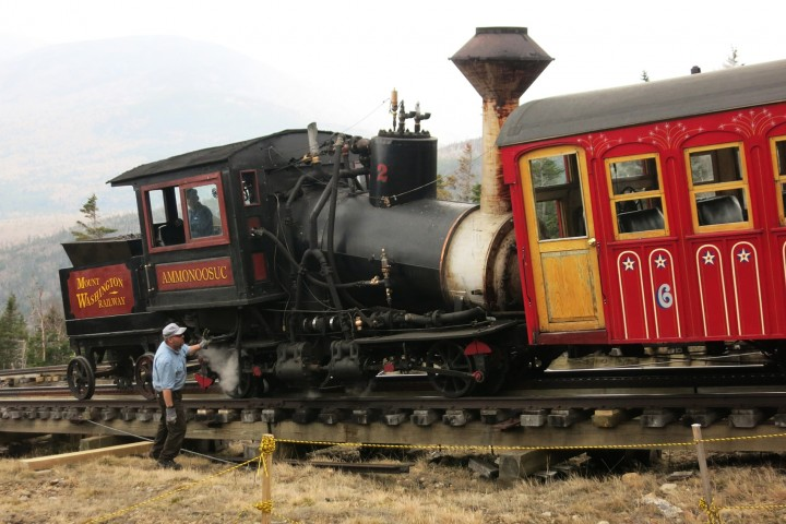 The Mount Washington Cog Railway | Train Ride to the Top of