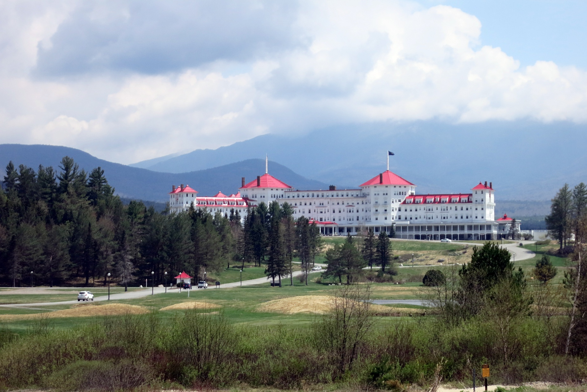 The Mount Washington Hotel At Bretton Woods Nh Historic Tour New England Today