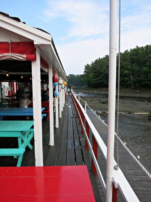Chauncey Creek Lobster Pier in Kittery Point, Maine