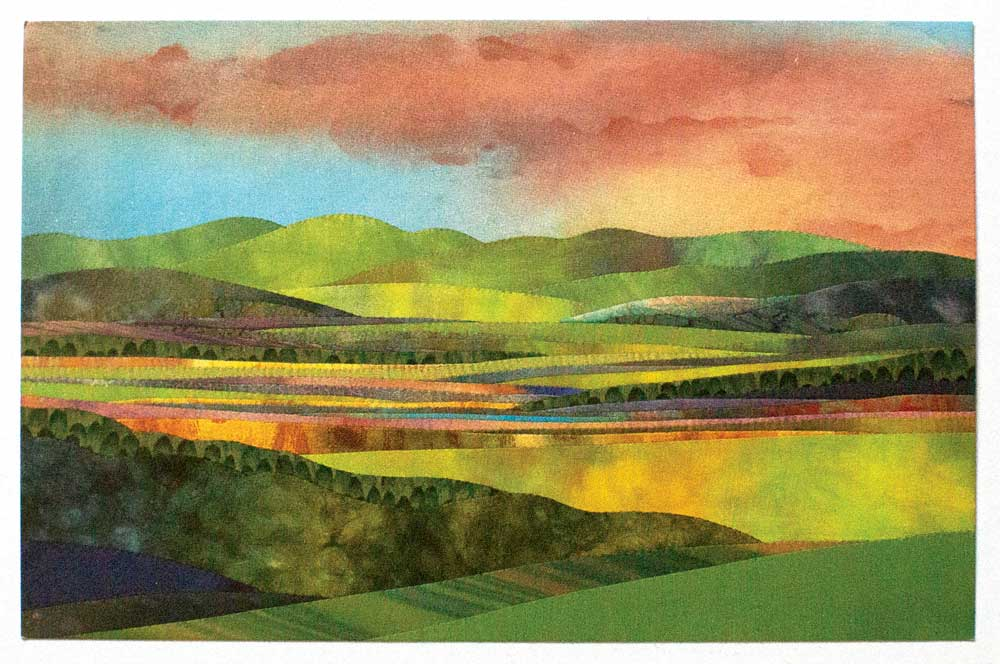 Quilter and appliqué artist jo diggs open studio new england today