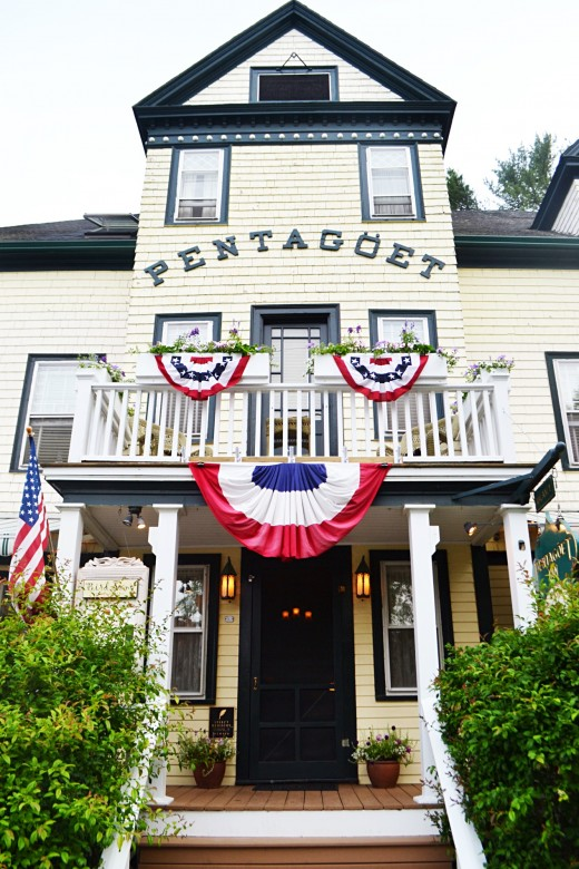 The Pentagoet | Castine, Maine