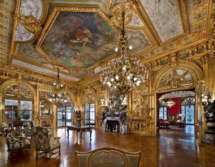 Il Grande Salone di Marblehouse fu costruito per fare colpo.'s Grand Salon was built to impress.