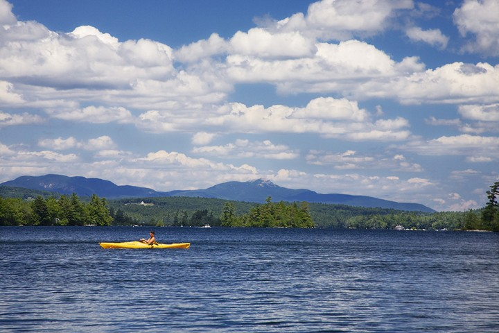 Prettiest Lakes in New England