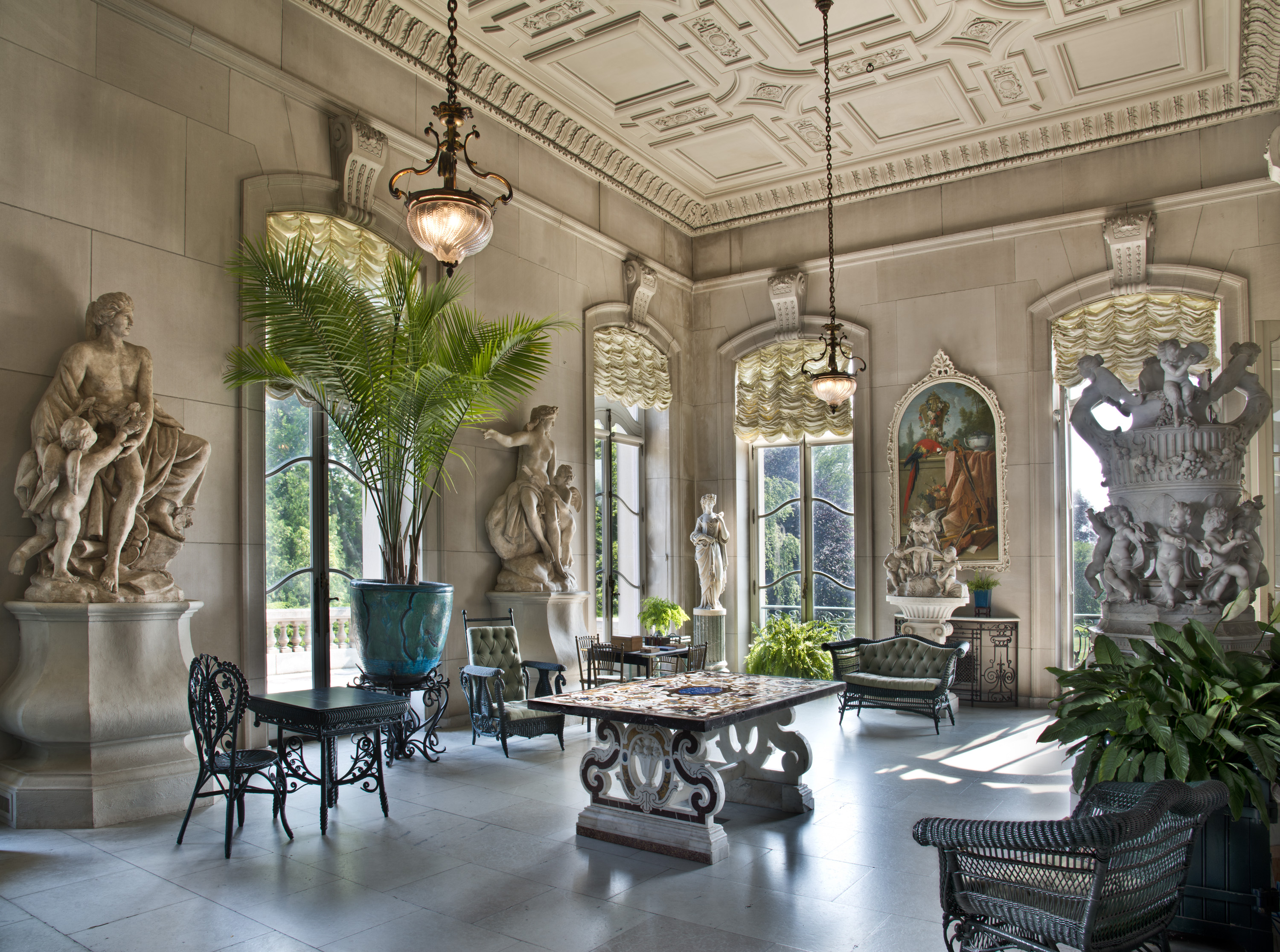The Elms Conservatory A French Inspired Garden Room