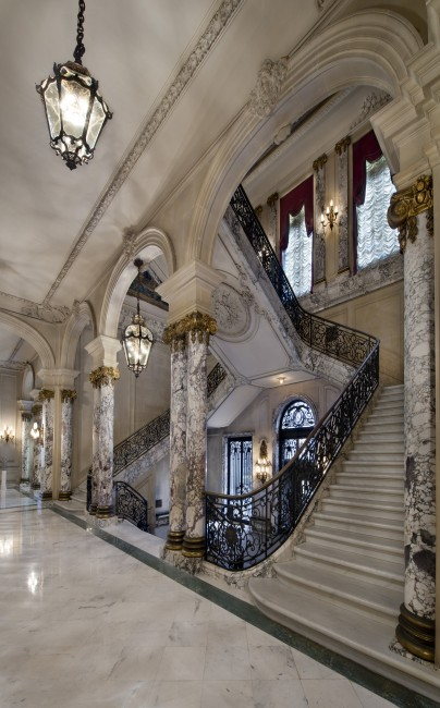 The Elms Grand Staircase