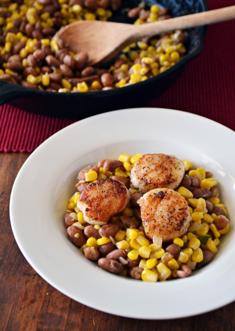 How to Make Summer Succotash with Seared Scallops | Step ...