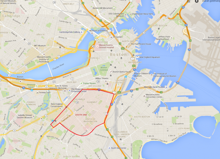 Tour Of Boston S Historic South End New England Today