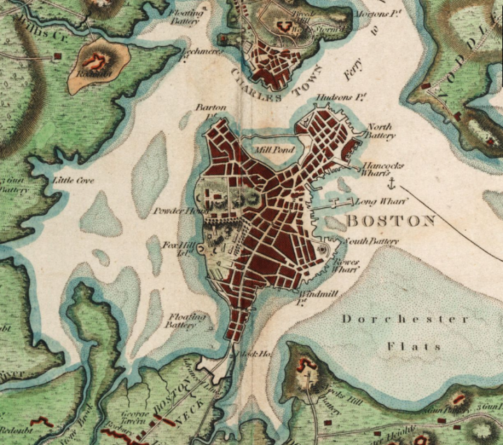 Boston Map Historical Sites.Tour Of Boston S Historic South End New England Today