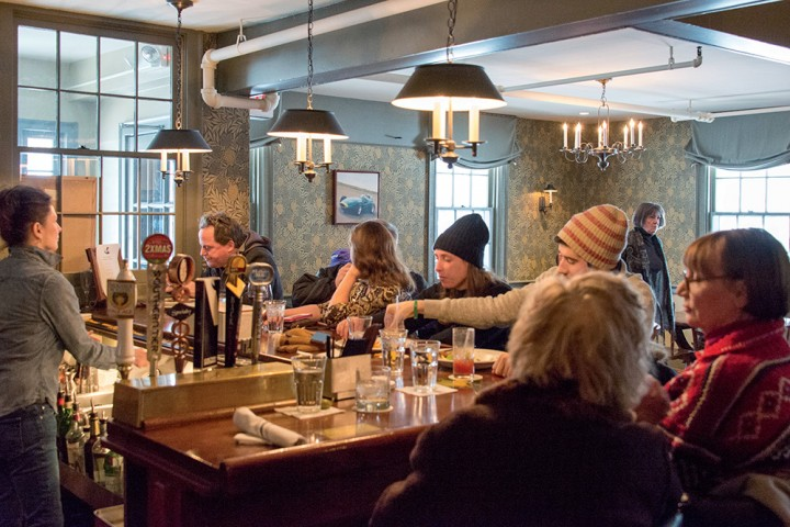 The Tap Room At White Hart Is A Cozy Place For Locals To Gather