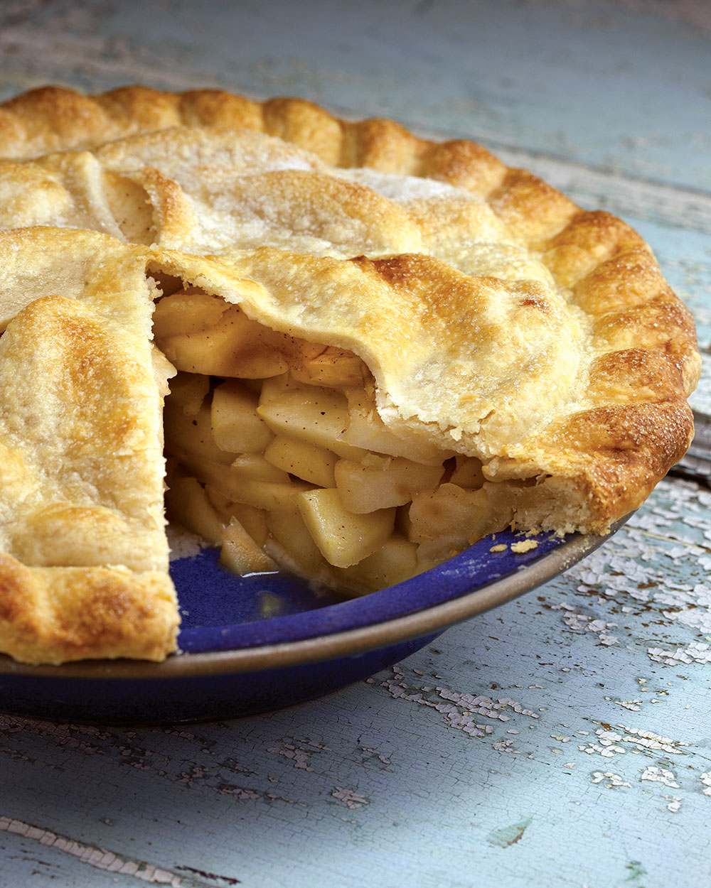 Blue-Ribbon Deep-Dish Apple Pie - New England Today