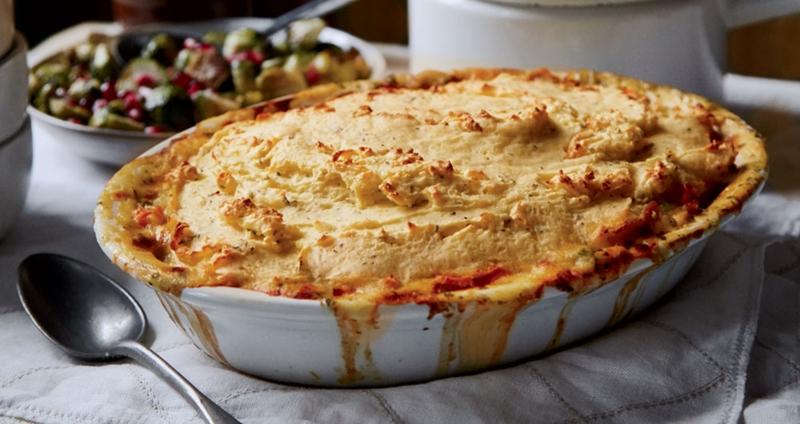 Chicken Pot Pie With Herbed Mashed Potato Crust Recipe Yankee Magazine