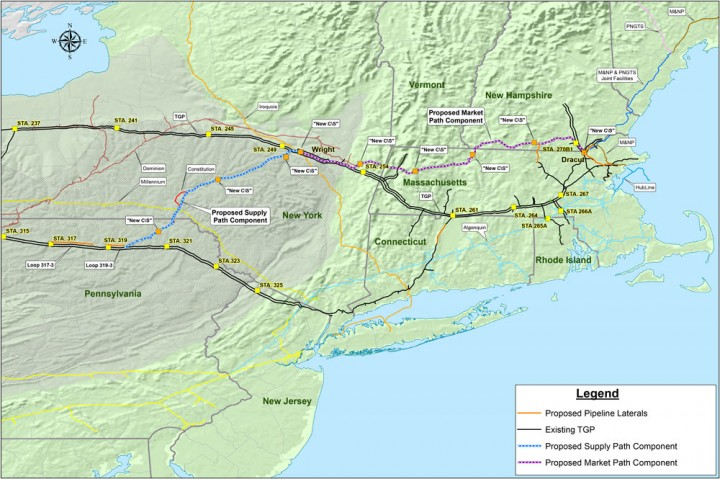 Natural Gas Lines In Maine