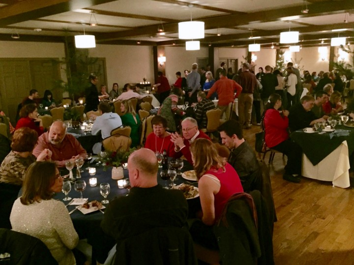 The Wassail Feast at the Woodstock Inn.