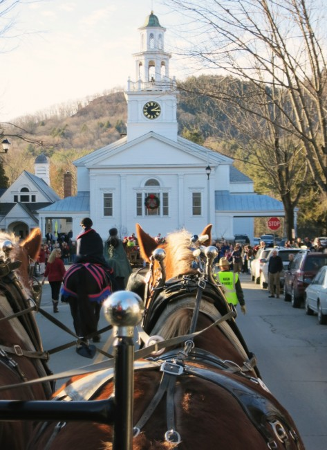 Wassail Parade church