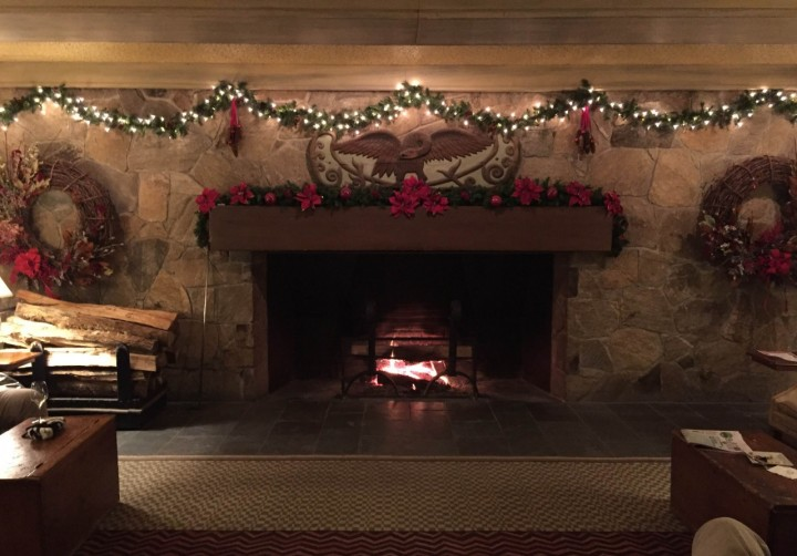 woodstock inn vt fireplace