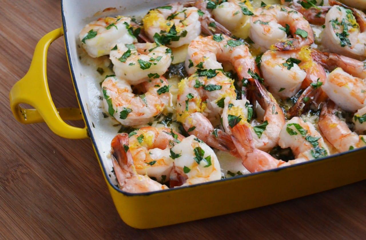 easy baked jumbo shrimp