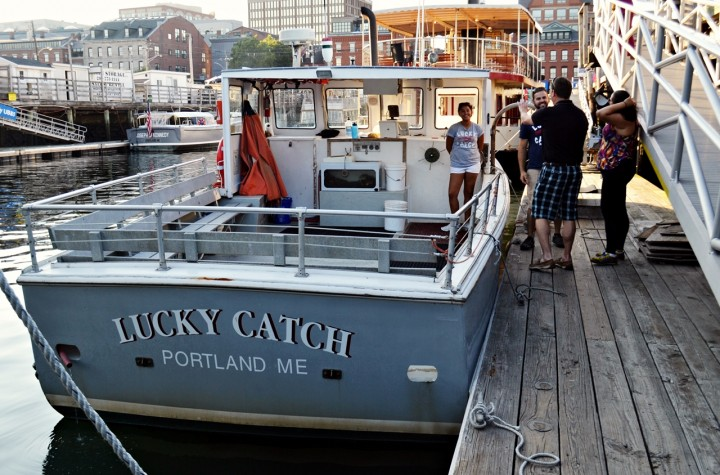 Maine lobster boat tour things to do in portland maine for Best time to visit maine for lobster