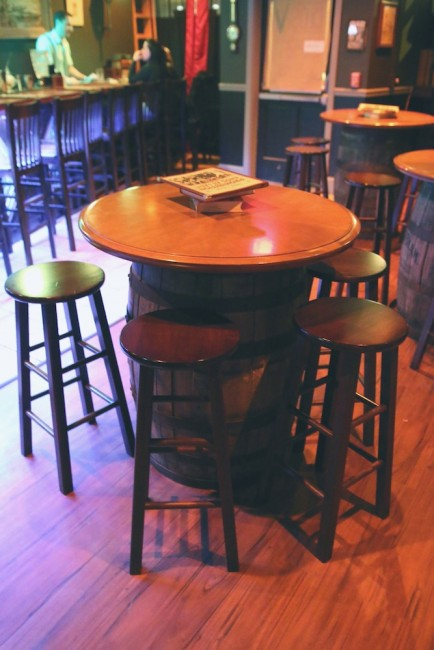 Bar tables great for small groups codex nashua speakeasy