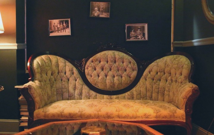 Old couches and cozy corners can be found throughout. codex nashua speakeasy