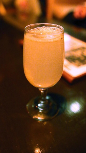 French 75 - Gin, Sugar, Lemon, Prosecco codex nashua speakeasy