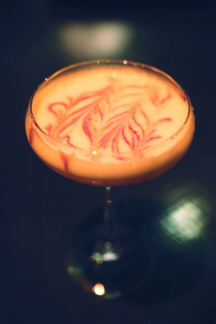 Pink Lady - Gin, Pomegranate Syrup, Egg White, Lemon codex nashua speakeasy