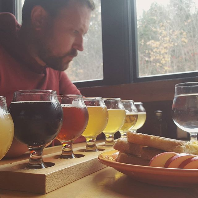 A visit to Lost Nation Brewing in Morrisville, VT for beer and cheese.