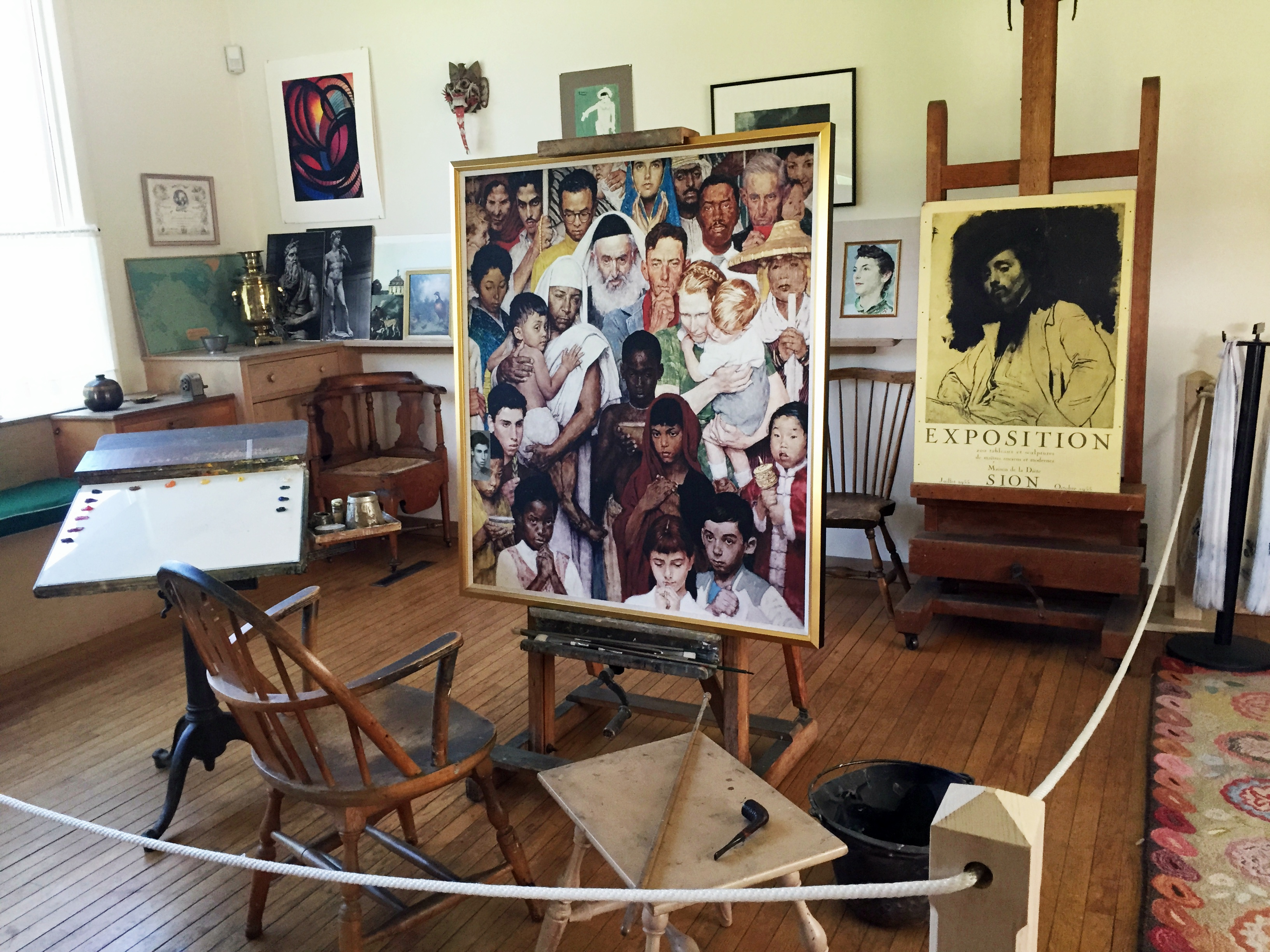 Norman Rockwell Trivia | New England By The Numbers