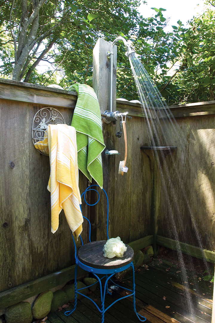 Build an outdoor shower new england today - How to make an outdoor shower ...
