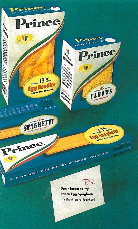 Wednesday is Prince Spaghetti Day | Celebrating Prince Pasta