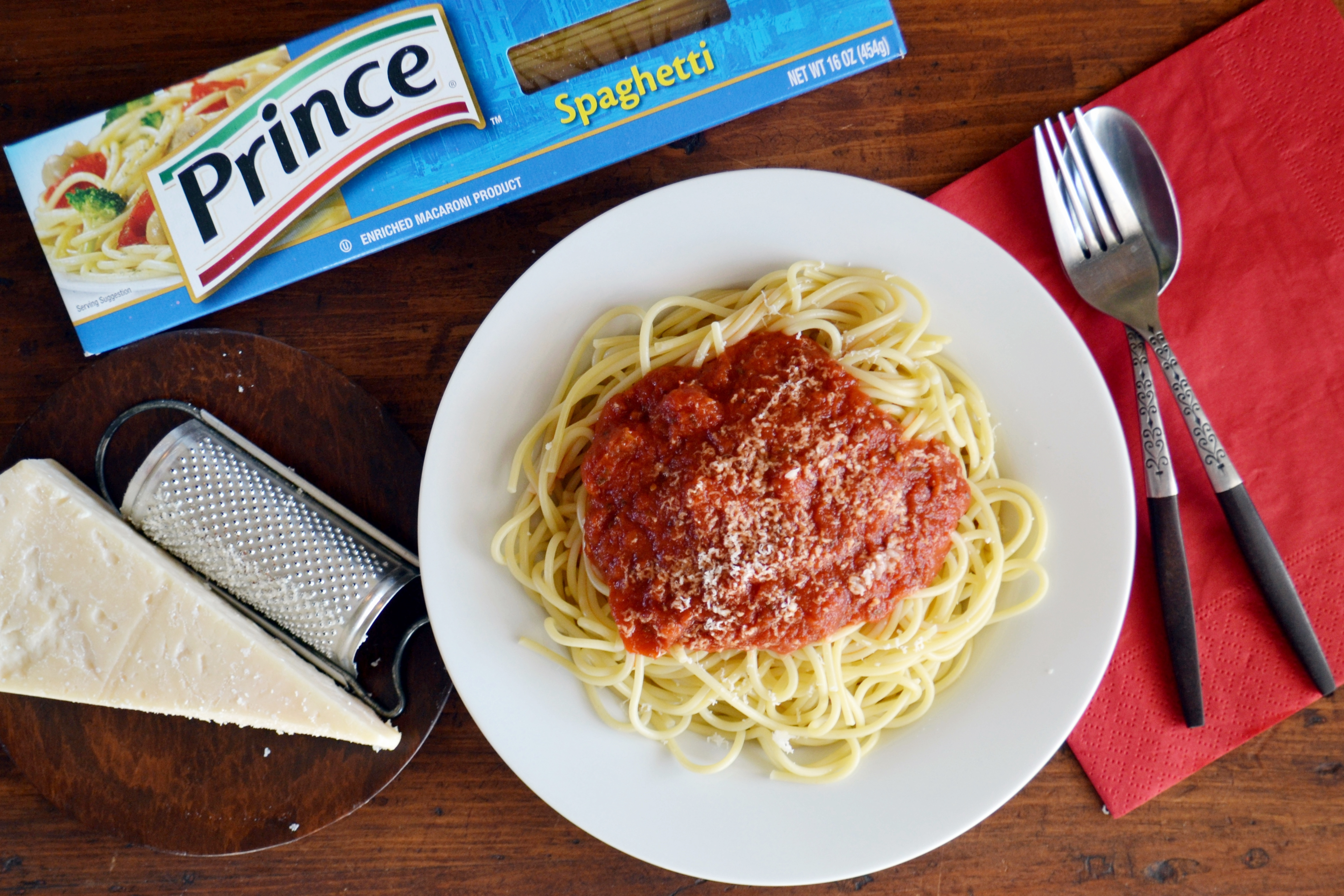 Wednesday is Prince Spaghetti Day
