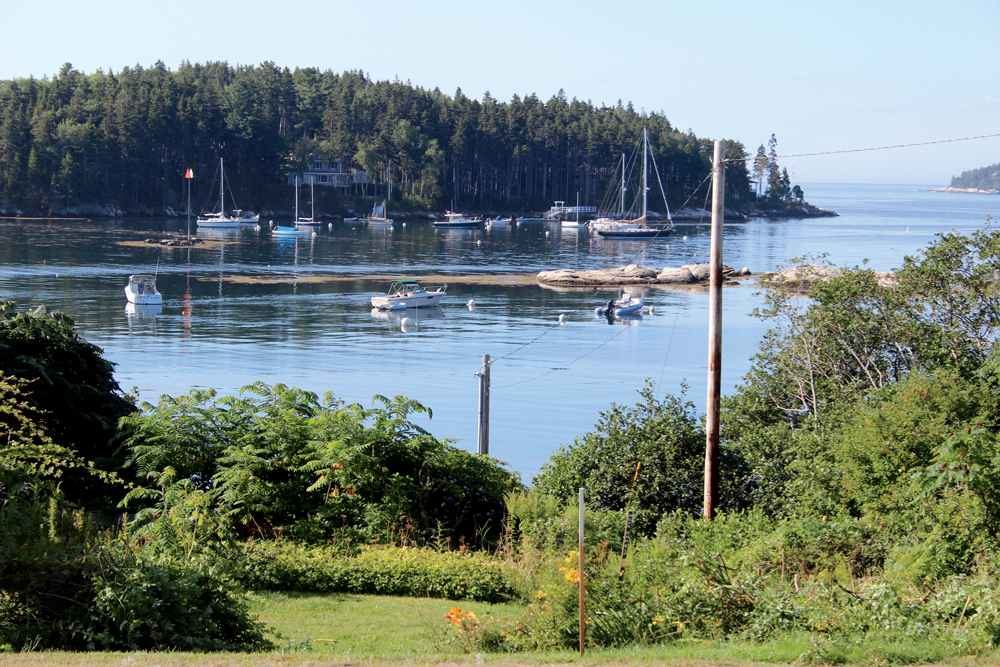 overlooking christmas cove maine house for sale