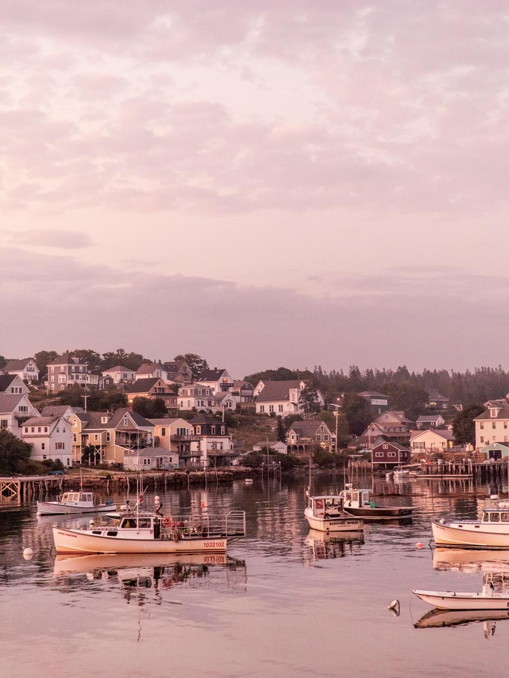 Blue Hill Peninsula in Maine