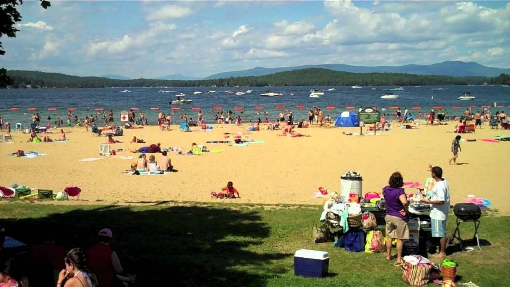 Weirs Beach Lake Winnipesaukee Best New Hampshire Beaches