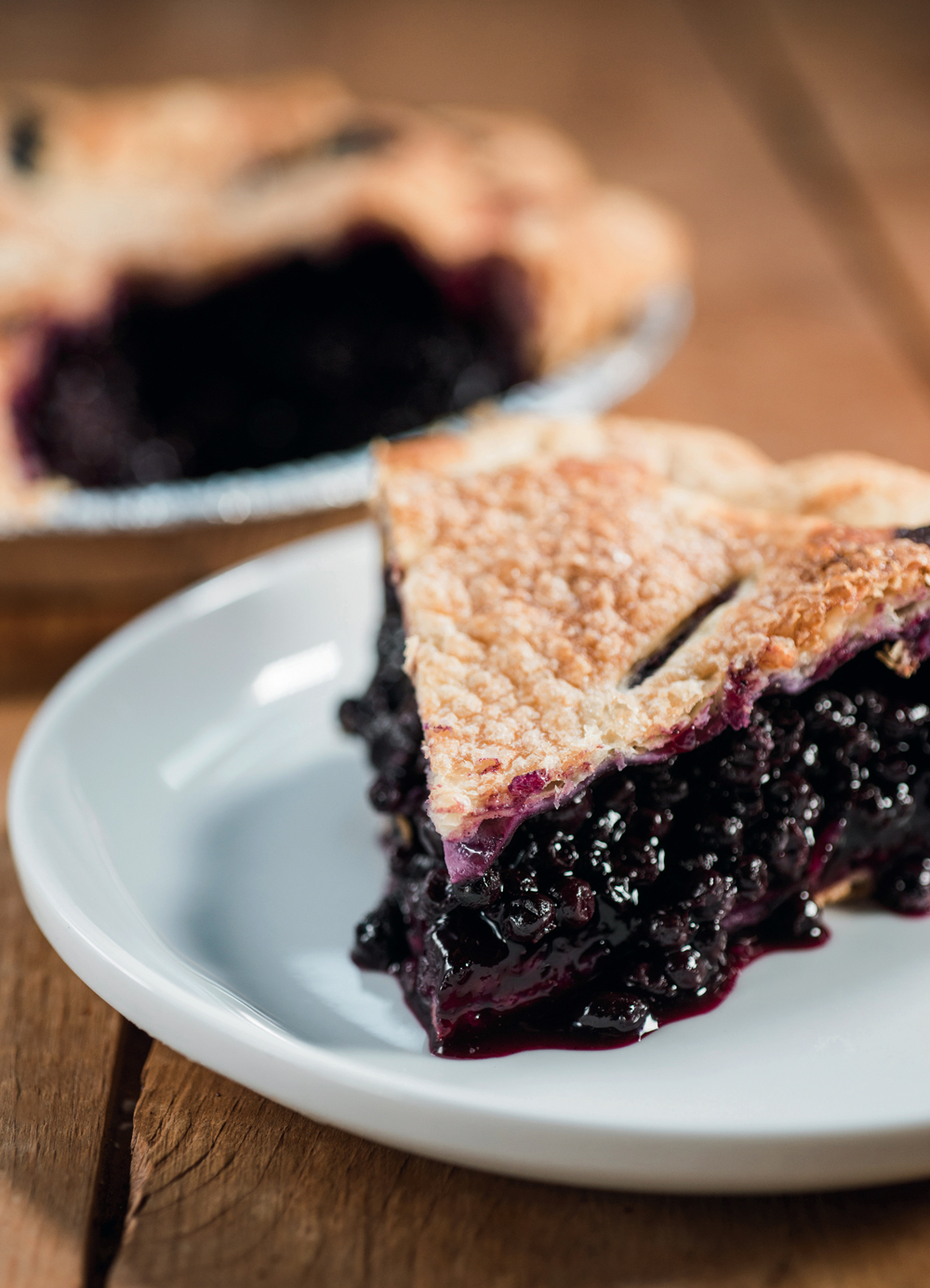 Two Fat Cats' Wild Maine Blueberry Pie