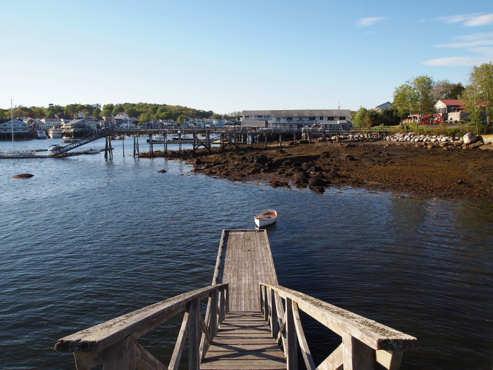 Picturesque Boothbay Harbor is known for its connection to the sea.