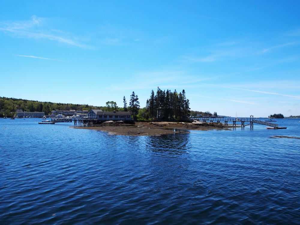 McFarland Island is one of many islands surrounding Boothbay Harbor, and helps make Boothbay Harbor the picture-perfect setting for a vacation in Maine.