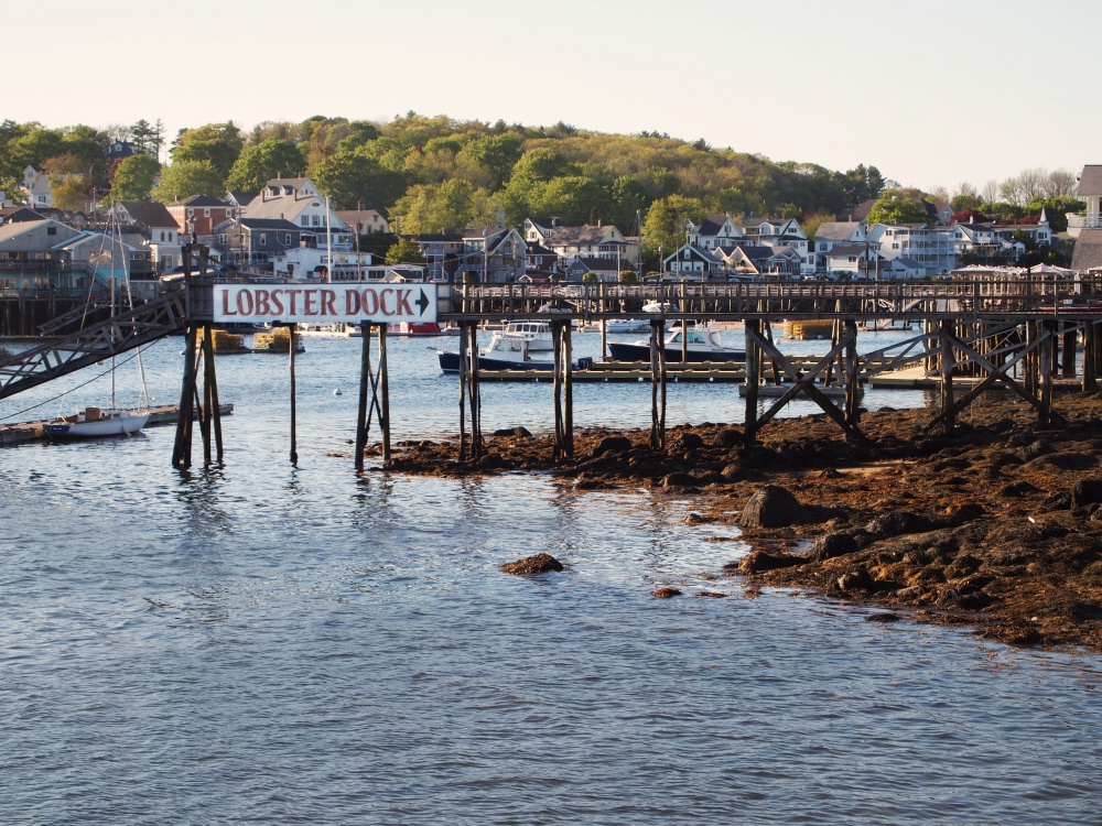 What's a Maine vacation without a little lobster? Check out the Lobster Dock, one of many oceanfront eateries serving up Maine's signature dish.