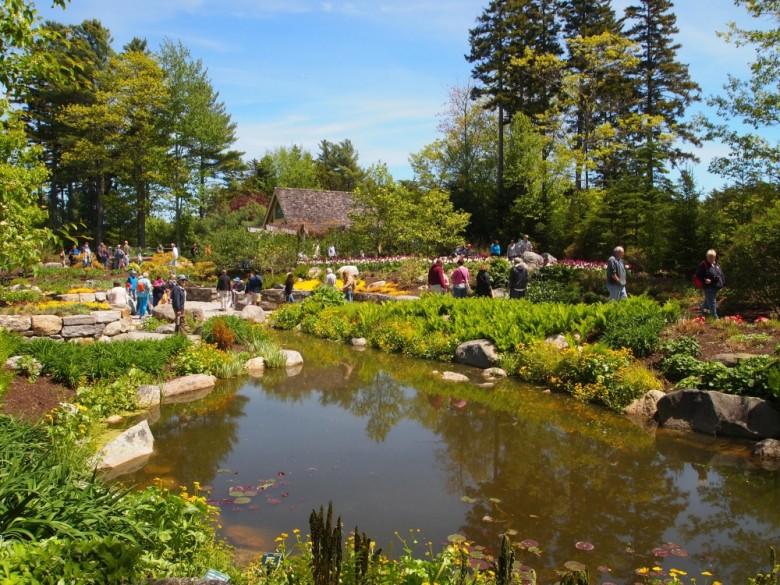 A Visit To The Coastal Maine Botanical Gardens New England Today