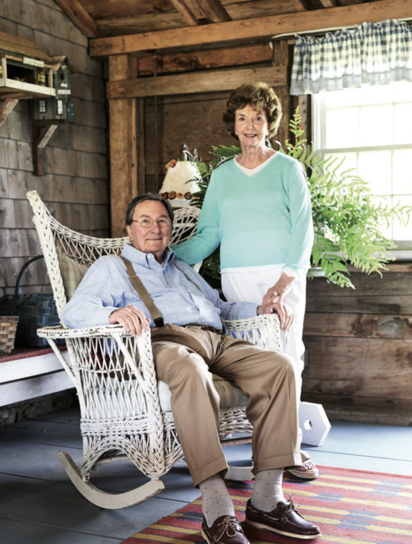 Robert and Mary Gallant, who are selling their Maine farm after more than 30 years.