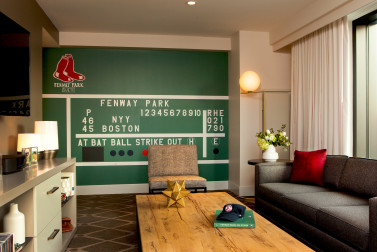 The Fenway Park Suite At Hotel Commonwealth