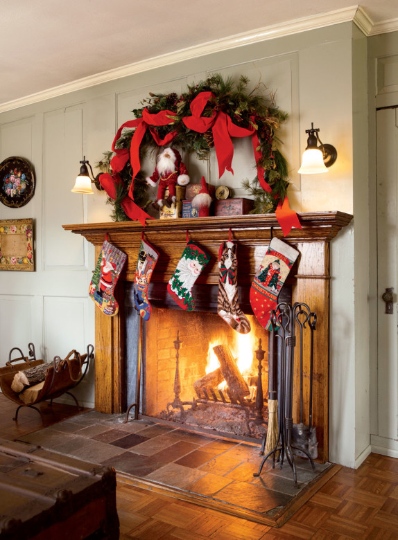Stockings Really Are Hung By The Chimney With Care