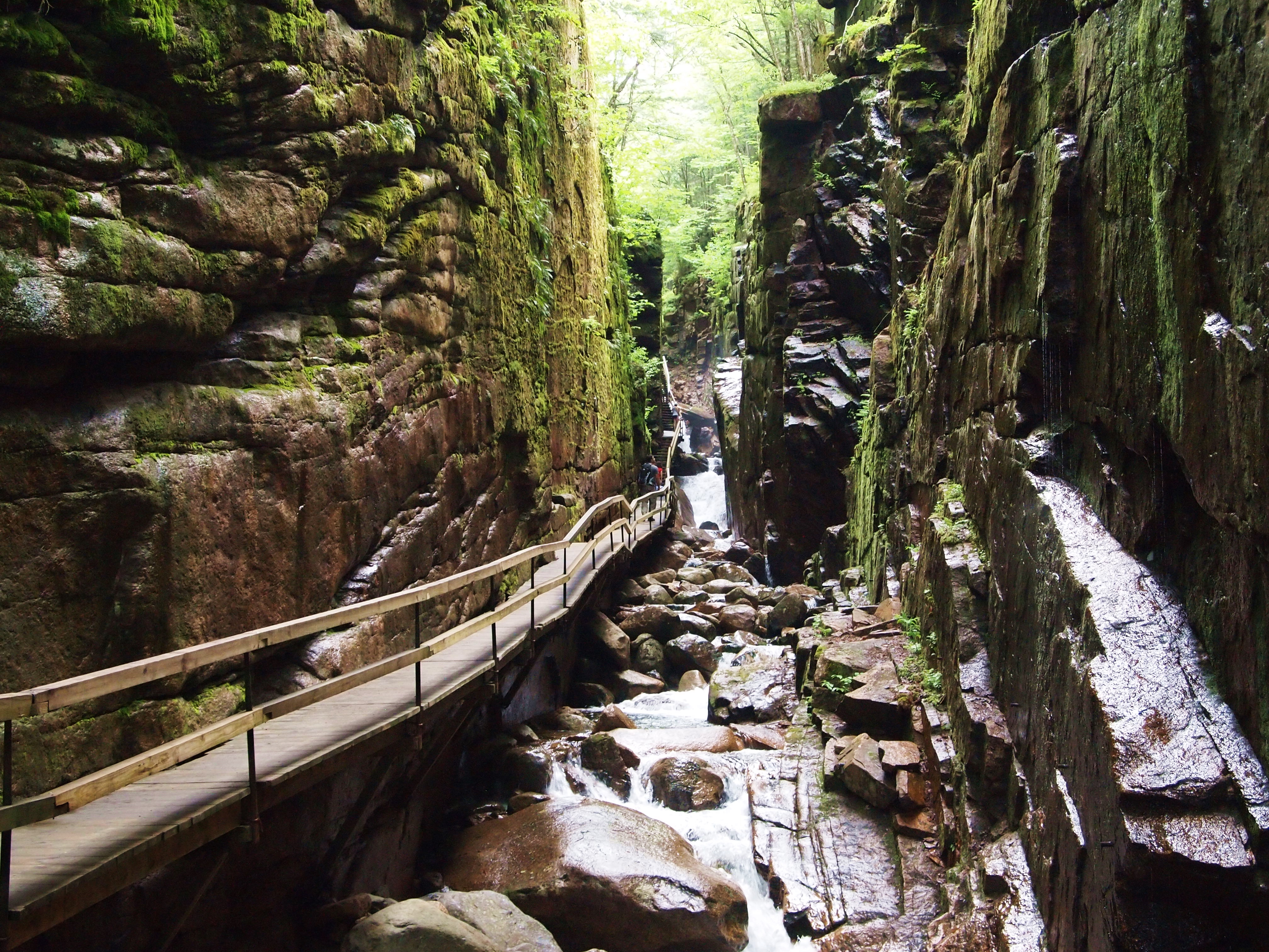 The Flume Gorge in Lincoln, NH | Hiking Through History