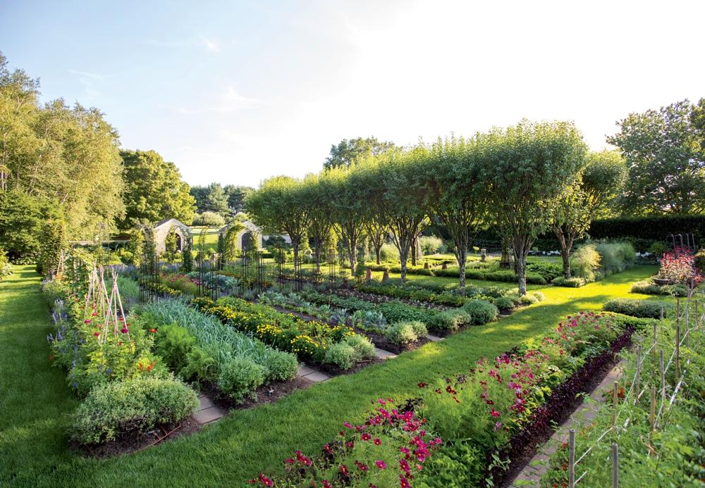 the prettiest vegetable garden in new england