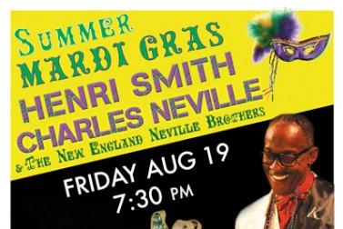 Summer Mardi Gras Concert with Henri Smith & Charles Neville