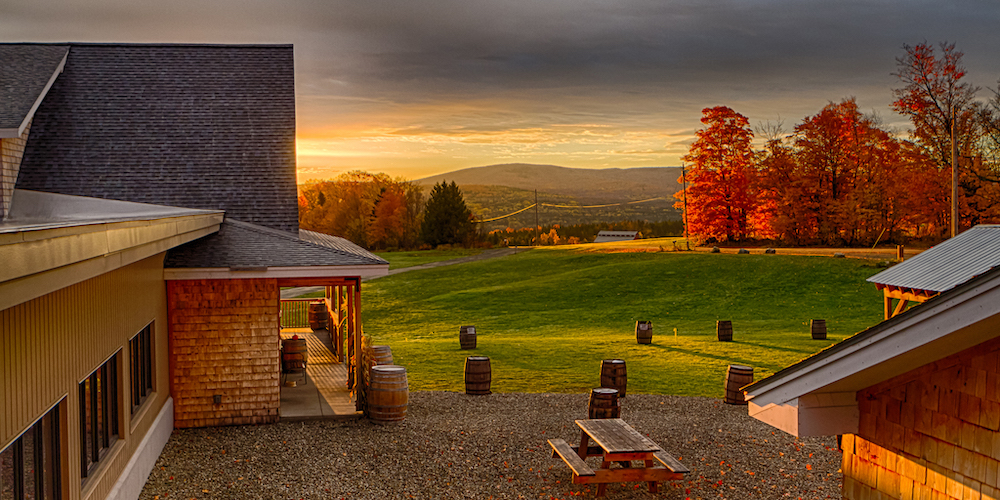 Hill Farmstead Brewery in Greensboro Bend, Vermont.