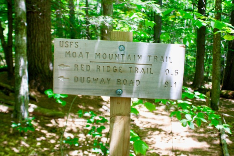 There's just under 10 miles of trails to hike.